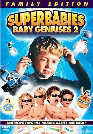 Superbabies Baby Geniuses 2 DVD, 2005, Family Edition - DISC ONLY  - $2.25