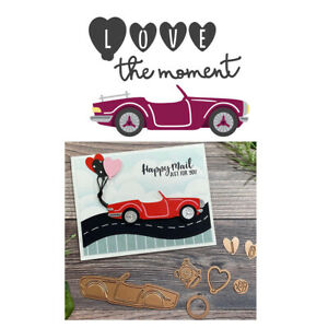 Car Metal Cutting Dies Stencil for DIY Scrapbooking Photo Album Paper Card Craft