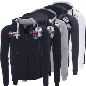 Geographical-Norway-Homme-Hiver-sweat-veste-pull-polo-Hoodie-fatal-NEUF