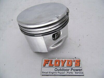 PART # 498584 STANDARD PISTONS FITS BRIGGS OPPOSED TWIN 16HP-18HP WITH RINGS