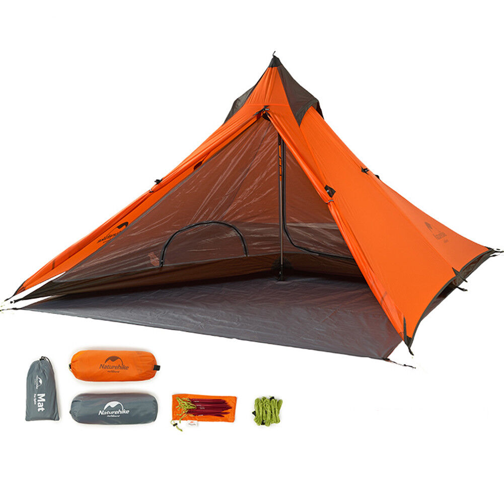 Ultralight 1  Person Tent Double Layer Tent Camping Hiking Waterproof Equipment  up to 42% off