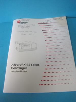 Allegra X-30, Benchtop Centrifuge - Beckman Coulter