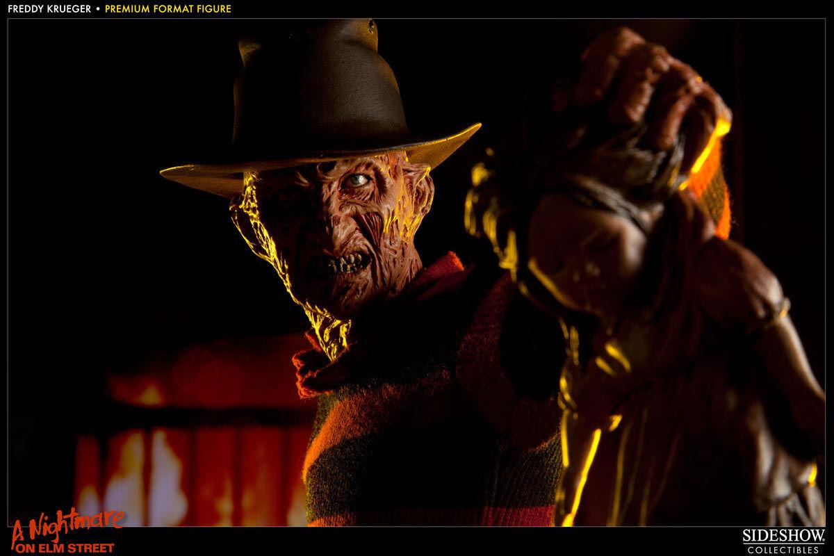 Sideshow Frojody Krueger Krueger Krueger 1 4 estatua Nigtmare en Elm Street Muy Rara   los nuevos estilos calientes