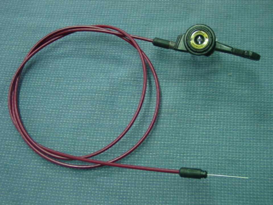 Schaltzug Original  Shimano Positron PPS 1650 1720 mm dunkelred