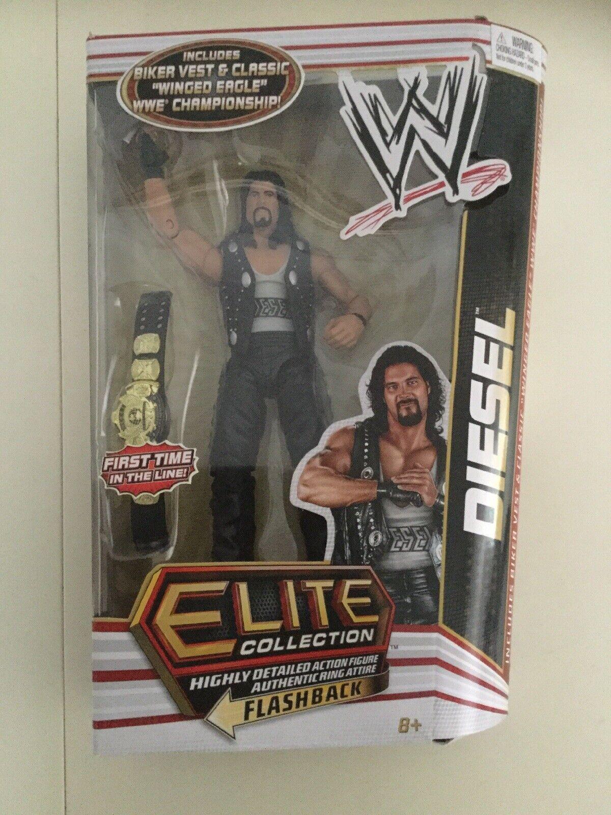 WWE Mattel Elite Series 16  DIESEL NUOVO & MOLTO RARO
