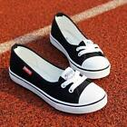Women Canvas Peas shoes Flats Loafers Sports Boat Flats Slip Shoes Sneakers LOT