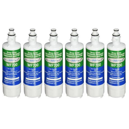 Aqua Fresh Replacement Water Filter Fits LG LFX31945ST02 Refrigerators 6 Pack