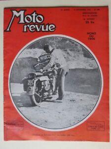 Collection Ici 084 - Moto Revue 1950 - Indian 1200cc - Etude Et Vues éclatées De Monocylindres
