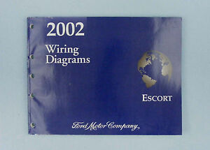 Wiring Diagrams Manual, 2002 Ford Escort, FCS-12117-02 | eBay