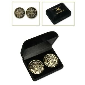 THE-HUNGER-GAMES-BEST-FRIENDS-GOLD-CHALLENGE-CAPITOL-COIN-SET-NECA-PROP-REPLICA