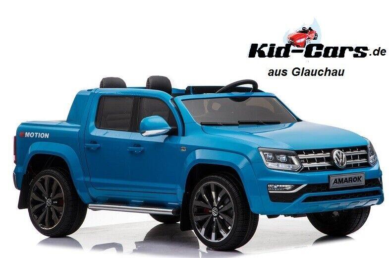 Elektroauto VW Amarok in blau Kinderfahrzeug Kinderauto Jeep Doppelsitzer SUV SUV SUV c3e174