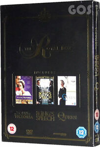 The-Kings-Speech-Young-Victoria-The-Queen-Royal-Boxset-Triple-DVD-Film-New