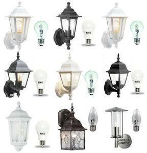 Traditional-Garden-Wall-Lanterns-Outdoor-Motion-Sensor-Lights-LED-or-Halogen
