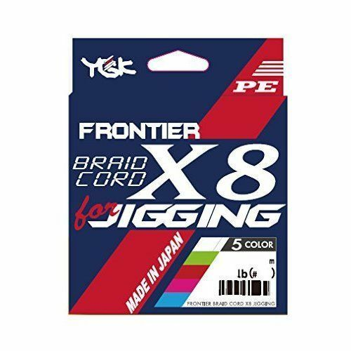 YGK Yotsuami Frontier 30lb X8 JIGGING 300m 30lb Frontier  2  Fishing LINE From JAPAN d5afb4