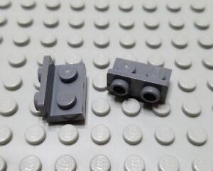 LEGO Lot of 8 Black 1x2-1x4 Space Bracket Pieces
