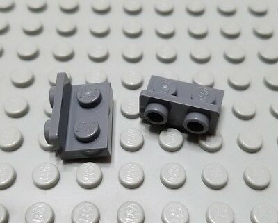New LEGO Lot of 2 Dark Bluish Gray 1x10 Flat Plate Pieces from 79111