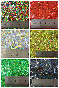 15g-LARGE-HOLOGRAPHIC-GLITTER-4-SIZES-5-COLOURS-CRAFTS-NAIL-ART-CARD-MAKING