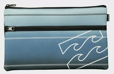 RRP $19.99. NWT Boy/'s Billabong Jumbo Neoprene Twin Compartment Pencil Case