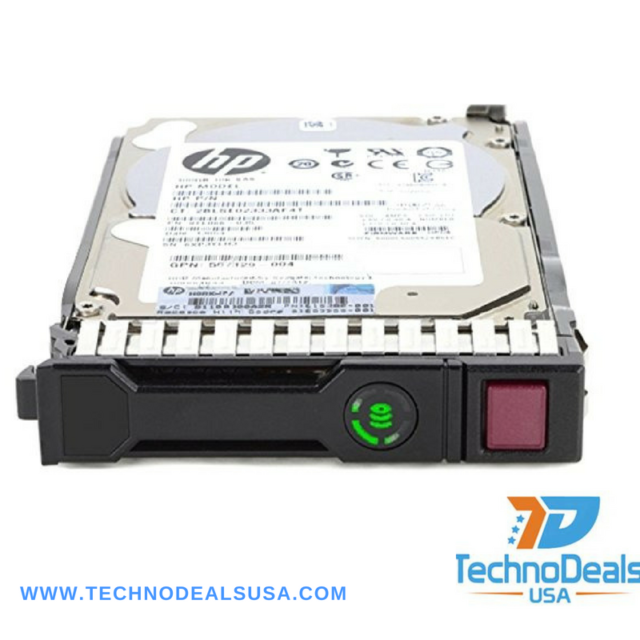 """HP AJ737A 480939-001 450GB 3G 15k SAS 3.5"""" MSA P2000 Hotplug Drive"""