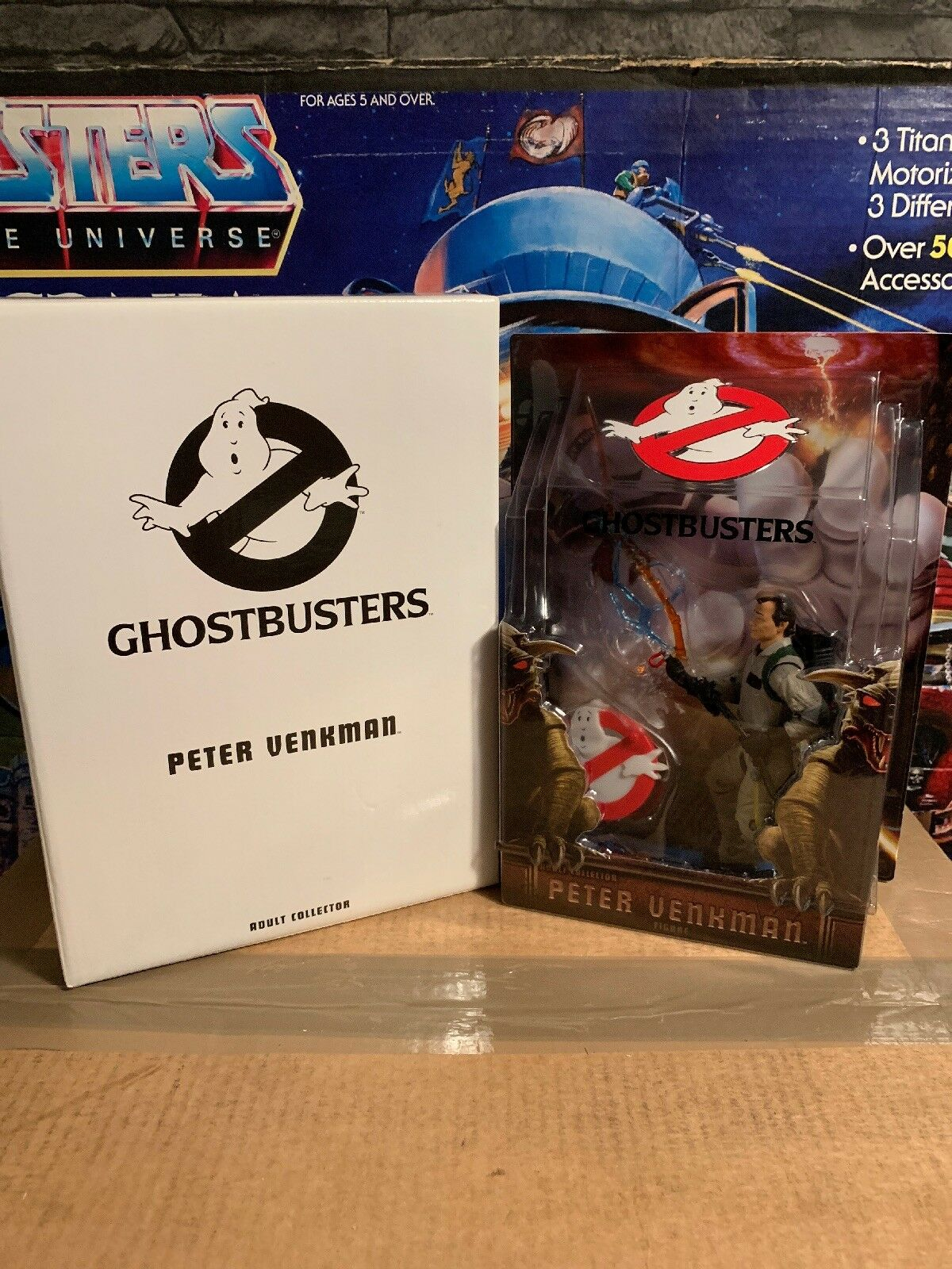 Matty Collecter Ghostbusters Peter Venkman Adult Collector New