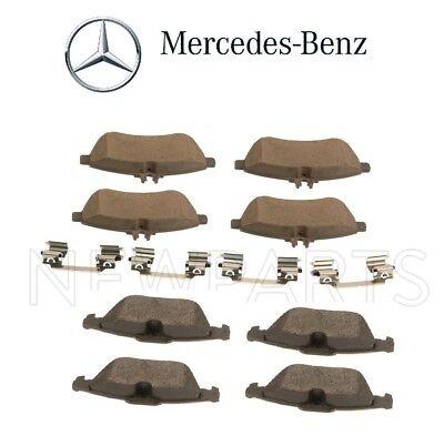 Mercedes W204 C204 C250 12-15 C300 08-12 Front /& Rear Brake Pad Sets Kit Genuine