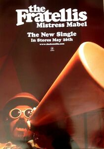 Fratellis-Mistress-Mable-Rare-Original-Promo-Poster-20x28-Inches