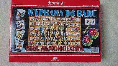 """""""un Viaggio Al Bar"""" Board Game Gioco Alcolico Per Adulti """"wyprawa Do Baru'-mostra Il Titolo Originale"""