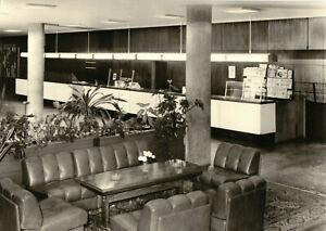 AK, Rostock, Interhotel Warnow, Empfangshalle, 1975