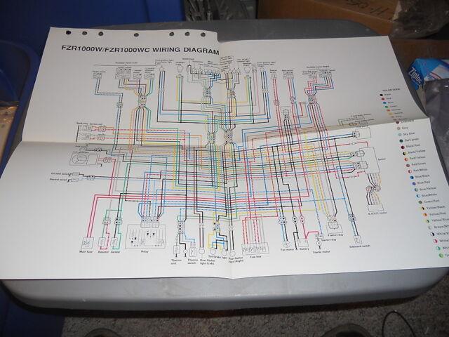 Yamaha Wiring Diagram Fzr1000w Fzr1000wc