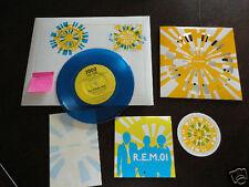 2000 R.E.M. REM Xmas Christmas Fan Club Single Vinyl Complete Record Everything!