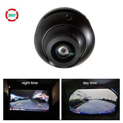 180 ° Fisheye Wide-angle Car Rear Front Side View Reverse Backup Camera CCD NTSC