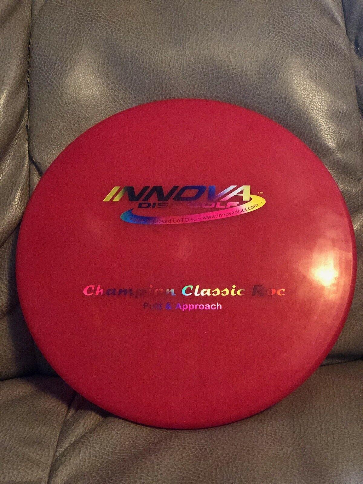 Raro Innova Ontario campeón Clásico Roc 167g con Jellybean sello 9.5 10