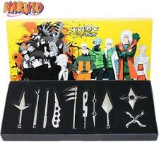 Naruto Kakashi Uzumaki Weapon Cosplay Anime Pendant Collection 10pcs New