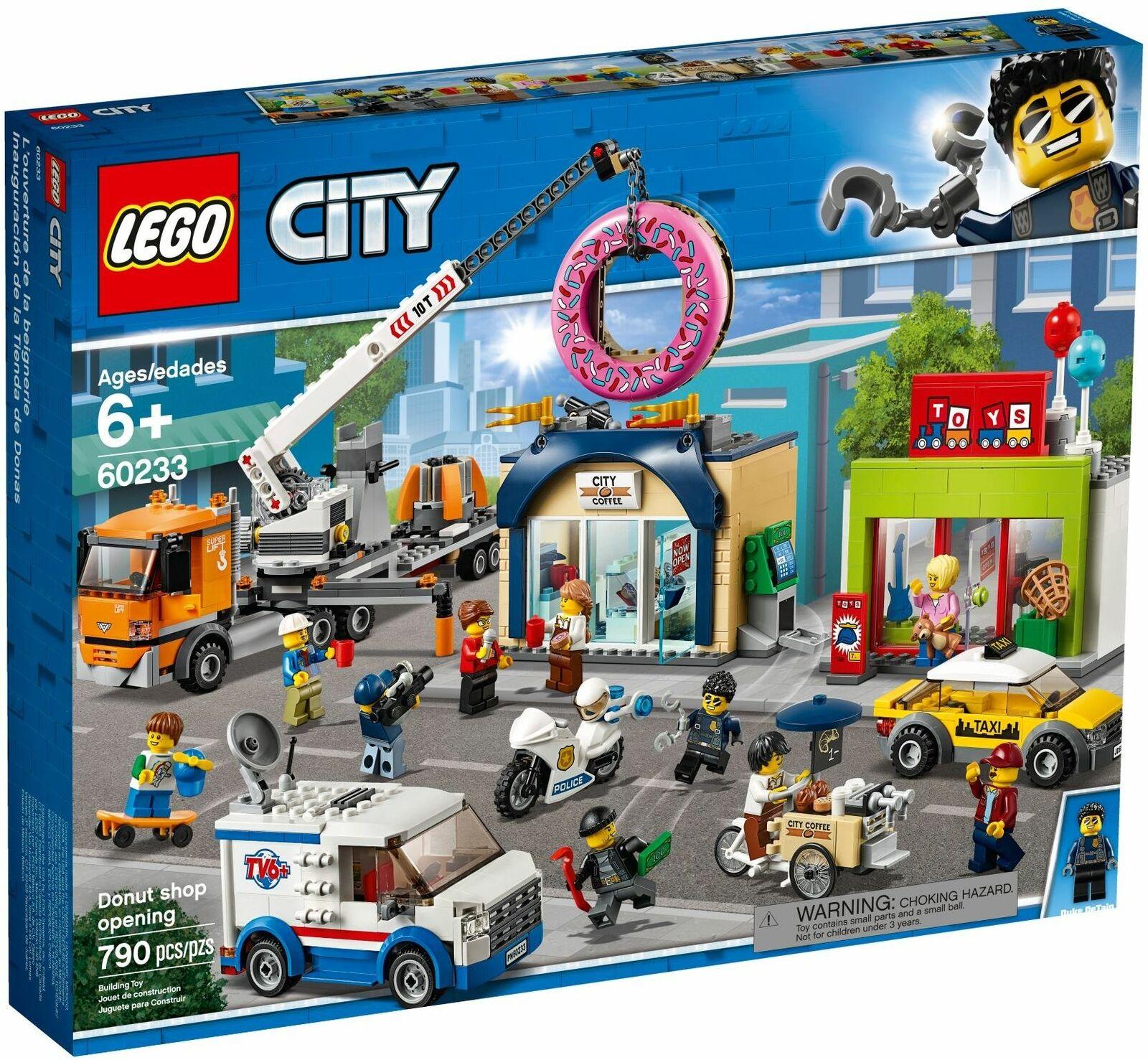 LEGO 60233 città Donut negozio Opening SEALED SET gratuito SHIPPING