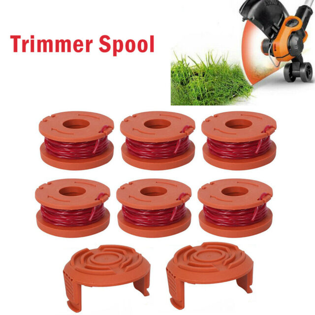 Qualcast Quality Spool Cover Cap x2 /& Line x1 GGT3001 Strimmer Trimmer