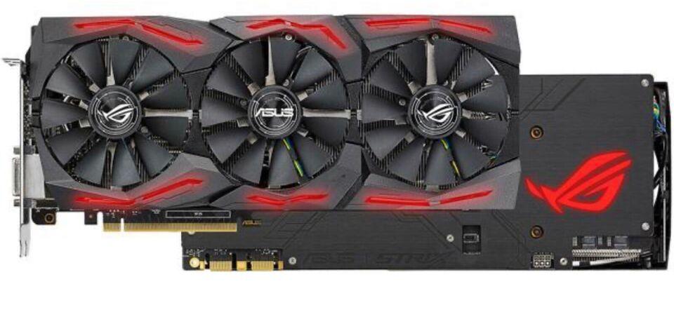 Asus GTX 1080TI OC Nvidia, 11 GB RAM, Perfekt