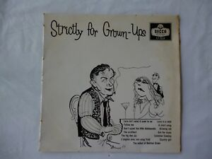 Strictly-For-Grown-Ups-Incredibly-Rare-New-Zealand-10-inch-LP-Vinyl-Near-Mint