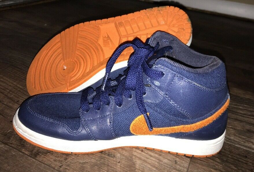 RARE Nike Air Jordan 1 Retro Phat Premier Night Navy Ceramic Sz 8.5 375173-481