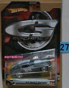 Modellbau Sanft Hot Wheels G-machines '63 Chevy Corvette Mit
