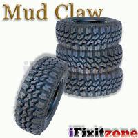 4 Mud Claw Extreme Mt 35x12.50r18lt 123q E All Terrain Performance Mud Tires on sale