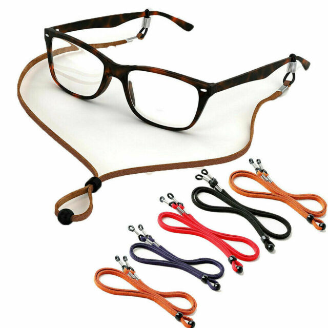 adjustable sunglasses holder neck cord glasses croakie strap lanyard