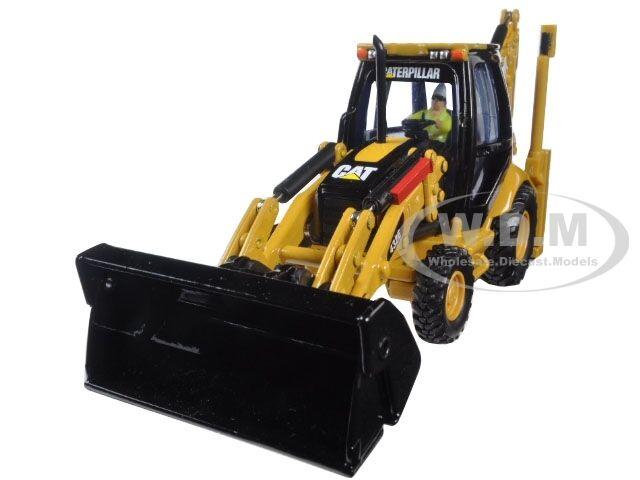 CAT Caterpillar 432E déplacement latéral chargeuse-pelleteuse 1 50 par Diecast Masters 85149 C