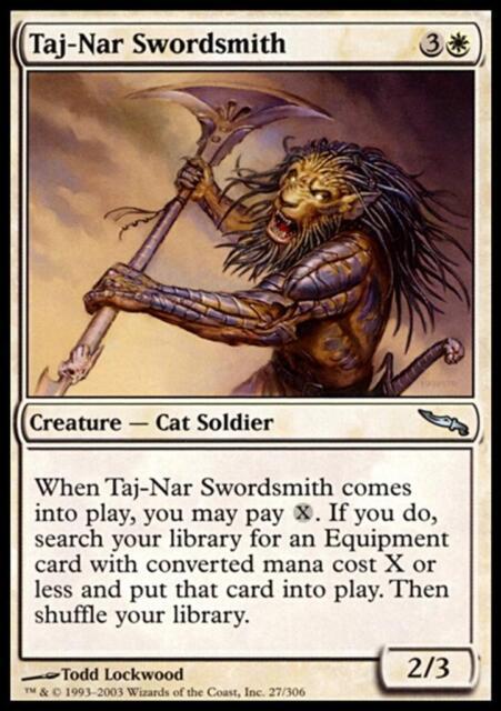MTG Magic - (U) Mirrodin - Taj-Nar Swordsmith - SP