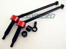 1/8 HPI 86246 SAVAGE FLUX HP XL Upgrade Harden Steel CVD Driveshafts +15mm 1PR