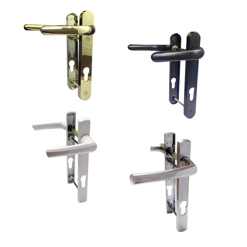 Replacement Upvc Door Handles >> Details About Upvc Door Handle 92mm Pz 122mm Fixing Centres Vita Quality Replacement