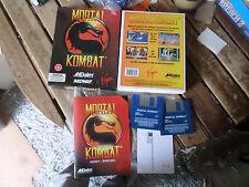 MORTAL KOMBAT da AKLAIM Amiga BOXED Game fair / buone condizioni avviato