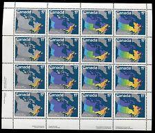CANADA SOUVENIR SHEET WHOLESALE LOT - #890 -93 MNH ** 10 Sheets ** - O29