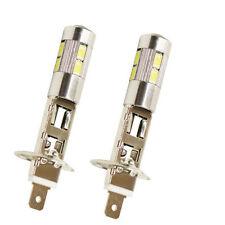 2X H1 Weiß Hohe Energie LED 10 SMD 5630  Standlicht Streiflicht Xenon 12V