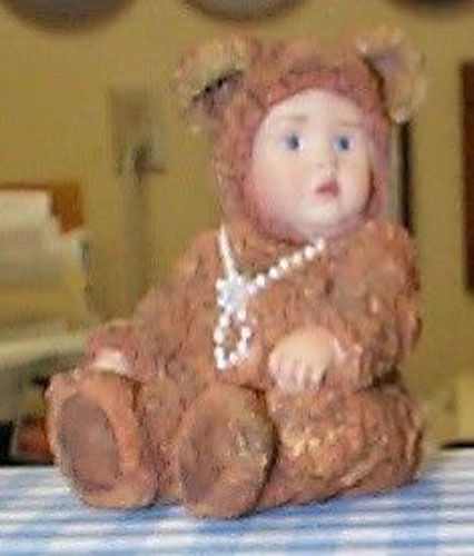Anne Geddes Babies are Important Bear Figurine