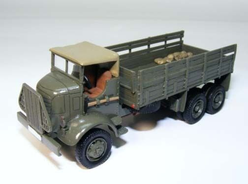 1 72 GMC AFKWX-353 COE 6x6 - High Quality Resin KIT by Fankit Models